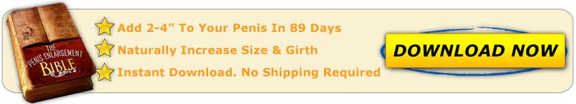 Penis Enlargement Bible Plan