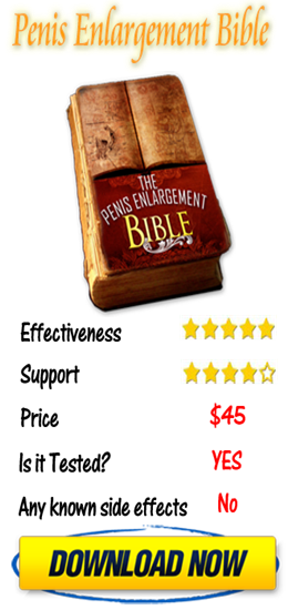 Penis Enlargement Bible program